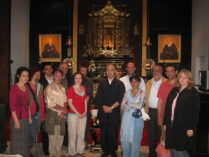 At the NY Buddhist Church